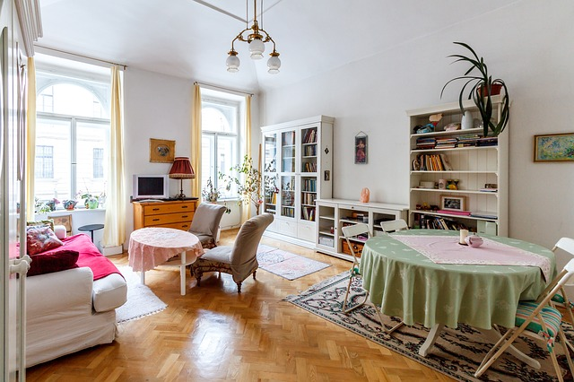 Grand salon appartement, investissement locatif