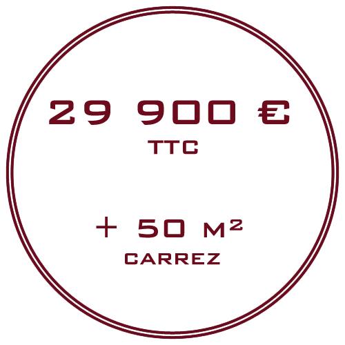 29900 euros TTC EVER INVEST