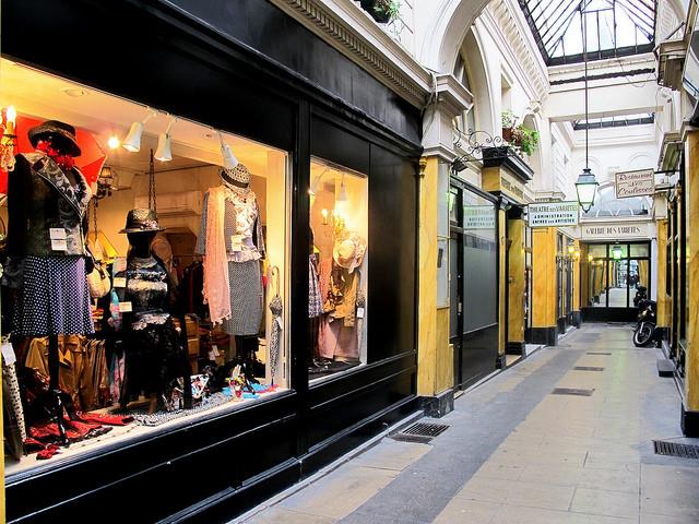 Boutiques Paris 2ème