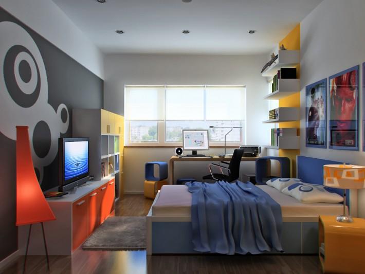Décoration moderne chambre appartemment