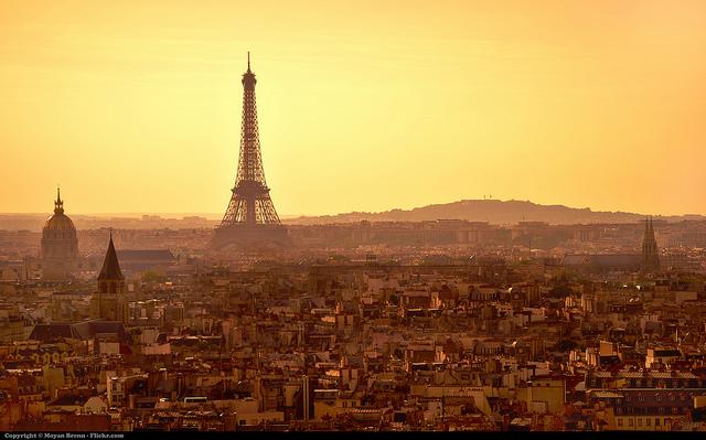 Grande vue sur Paris