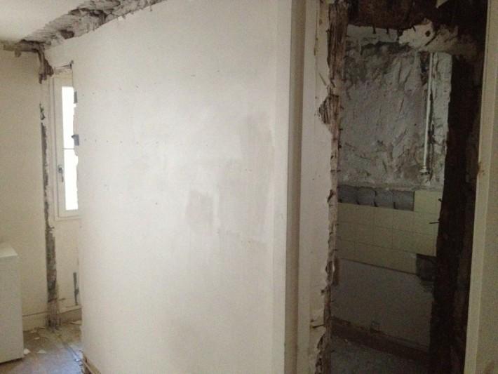Exemple avant rénovation Paris 9e EVER INVEST
