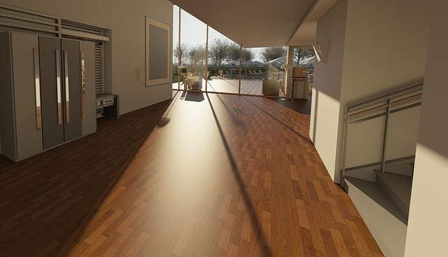 Couloir grande maison