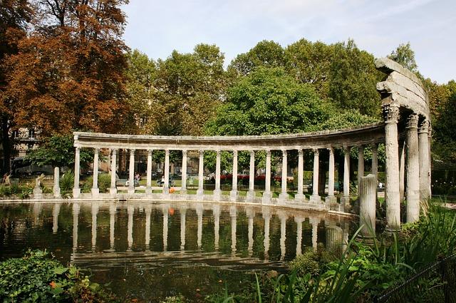 Colonnade, Paris 17ème