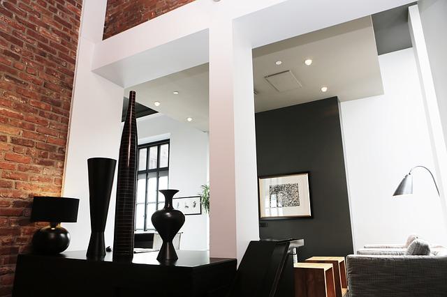 Design moderne de pièce intérieur