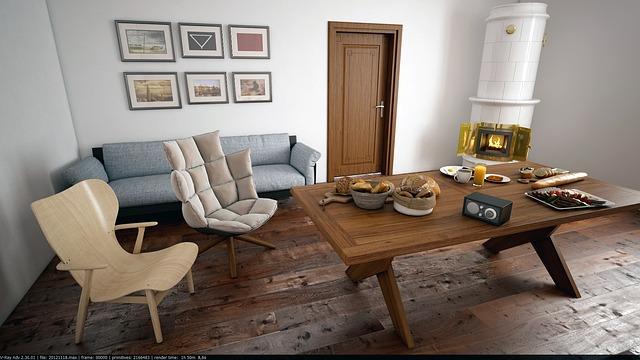 Salon logement