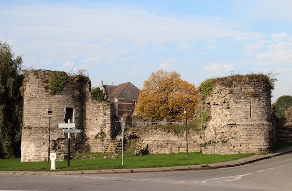 Ruines de l'ancien château de Vaulx