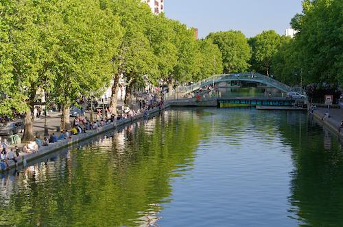 Canal Saint Martin Paris 11ème
