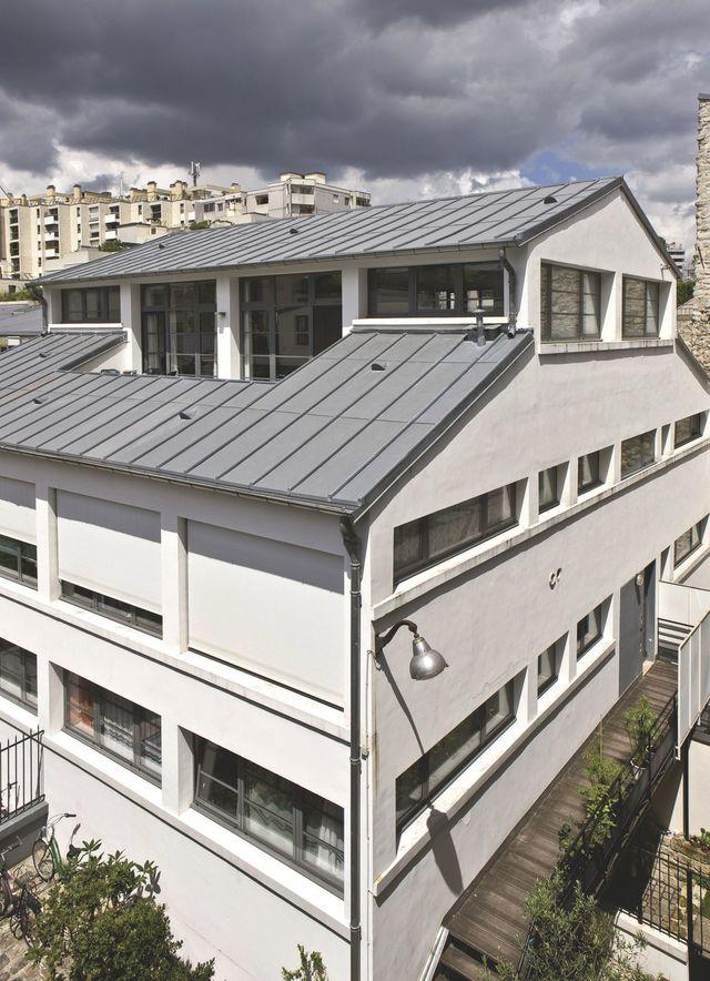 Top 7 des plus belles maisons de paris - Acheter ancienne usine ...