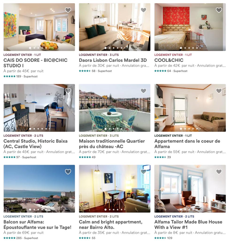 Airbnb Portugal Lisbonne
