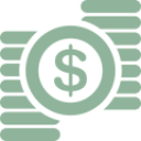 dollar-sign-and-piles-of-coins