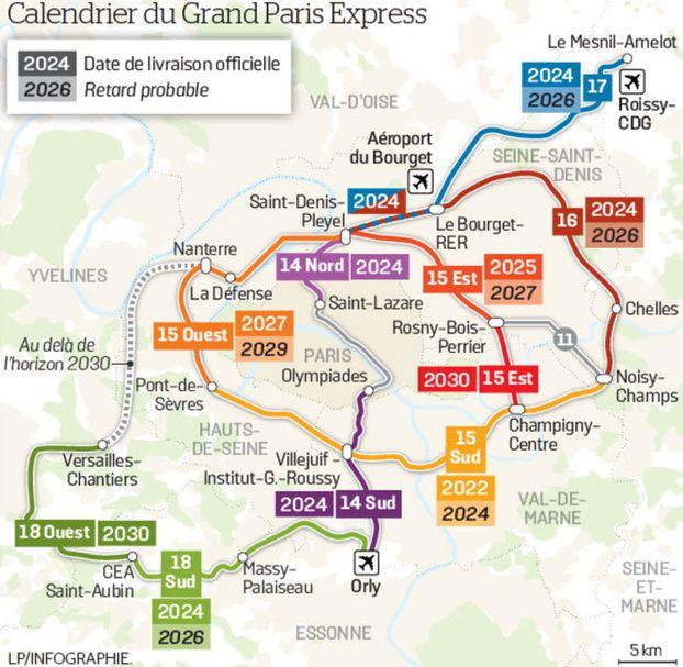 Grand Paris carte